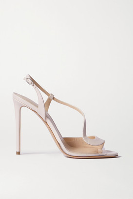 Nicholas Kirkwood S Leather And Pvc Sandals - Baby pink
