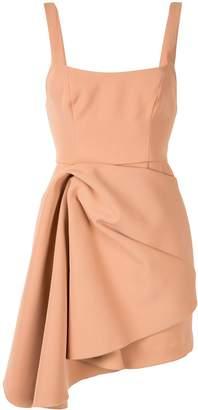 Acler draped asymmetric dress