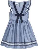 Bonnie Jean Chambray Sailor Dress, Little Girls