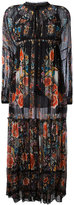 Roberto Cavalli Hippy long dress - women - Silk/Cotton - 40