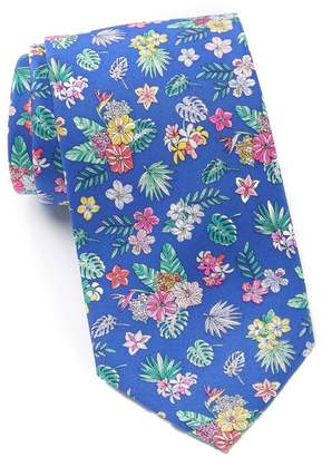 Tommy Hilfiger Botanical Bouquet Silk Tie