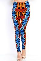 MIO Tribal Print Leggings