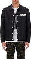 Alexander Wang Men's Nylon Coach's Jacket-BLACK