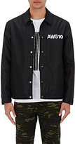 Alexander Wang MEN'S NYLON COACH'S JACKET