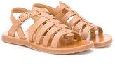 Pom D'Api Plagette sandals - kids - Leather/rubber - 27