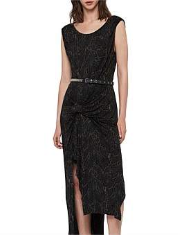 AllSaints Snakecharm Riviera Dress