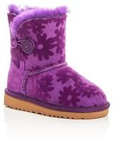 UGG Girls' Bailey Button Flowers Boots - Toddler, Little Kid, Big Kid