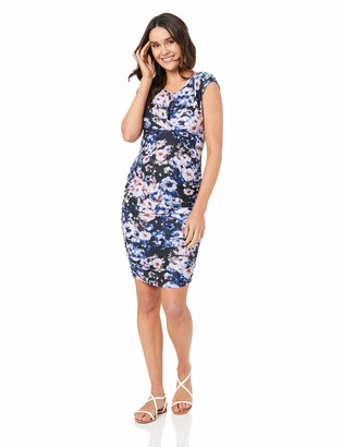 Ripe Maternity Women's Violet Cross Your Heart Dress