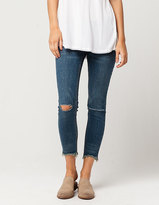 Free People Frayed Hem Womens Skinny Jeans