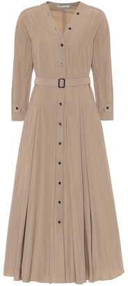 S Max Mara Panca belted midi dress
