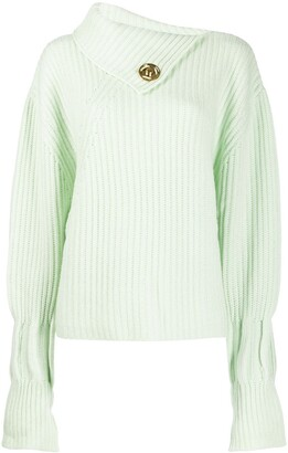 J.W.Anderson Asymmetric Collar Sweater