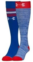 Under Armour Women's 2 Pair Socks, Performance, Over the Calf
