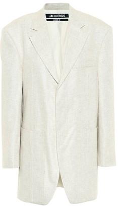 Jacquemus La Veste D'Homme linen-blend blazer