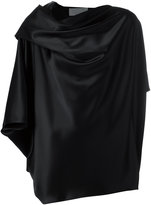 Gianluca Capannolo draped blouse - women - Polyester/Triacetate - 40