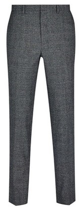 Dorothy Perkins Womens **Burton Grey And Camel Highlight Skinny Fit Check Suit Trousers, Grey