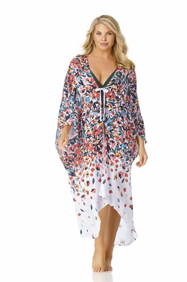 Anne Cole Women's Plus Size Robe Cover Up