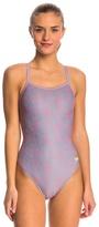 Speedo Women's Pro LT Flyback Geo Zebra One Piece Swimsuit 8148575