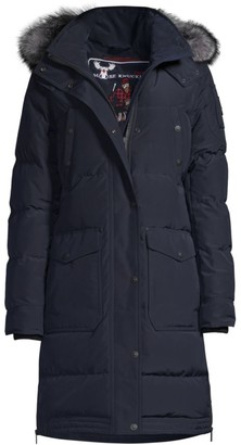 Moose Knuckles Mid Core Causapcal Water-Repellant Down Parka