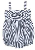 Isabel Garreton Babys Big Bow Stripe Bodysuit