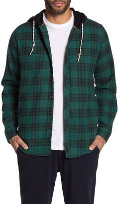 Sovereign Code Hane Hooded Plaid Shirt