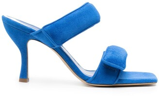 Gia Couture Touch-Strap Sandals