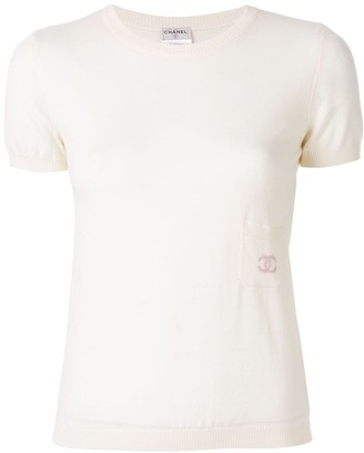 Chanel Pre Owned 2005 CC short sleeve top