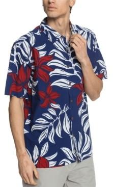 Quiksilver Men's Fourth Flowers Shirt
