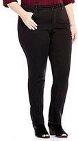 Code Bleu Plus Chelsea Slimming Straight Leg Jeans