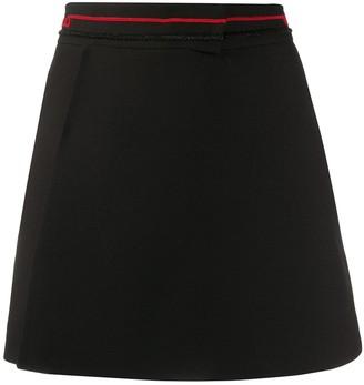 Valentino Beaded Logo Shorts