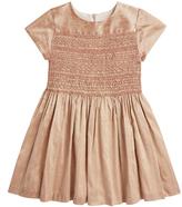 Marie Chantal GirlsSilk Hand Smocked Party Dress