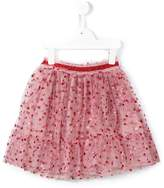 Gucci Kids glitter dots tulle skirt