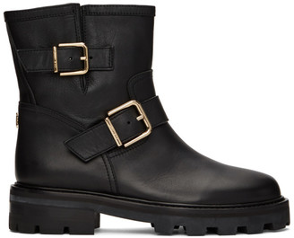 Jimmy Choo Black Youth II Mid Boots