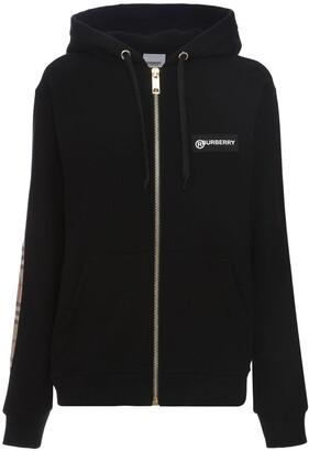 Burberry Aubree Zip-up Jersey Sweatshirt