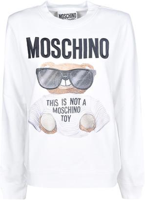 Moschino Bear Printed Sweatshirt