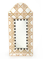 Mackenzie Childs MacKenzie-Childs Lattice Mirror