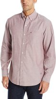 Izod Men's Long Sleeve Oxford Solid Shirt