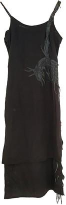 MHI Anthracite Cotton Dresses