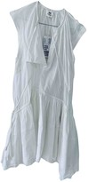 H&M Studio Studio White Cotton Dress for Women
