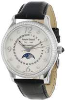 Louis Erard Women's 44204SE10.BDC02 1931 Automatic Black Leather Perpetual Date Diamond Watch