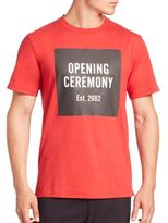 Opening Ceremony Cotton Crewneck Tee