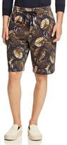 Vince Tropical Print Sweat Shorts