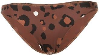 The Upside Leopard Print Bikini Bottoms