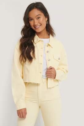 NA-KD Organic Cotton Colored Denim Jacket