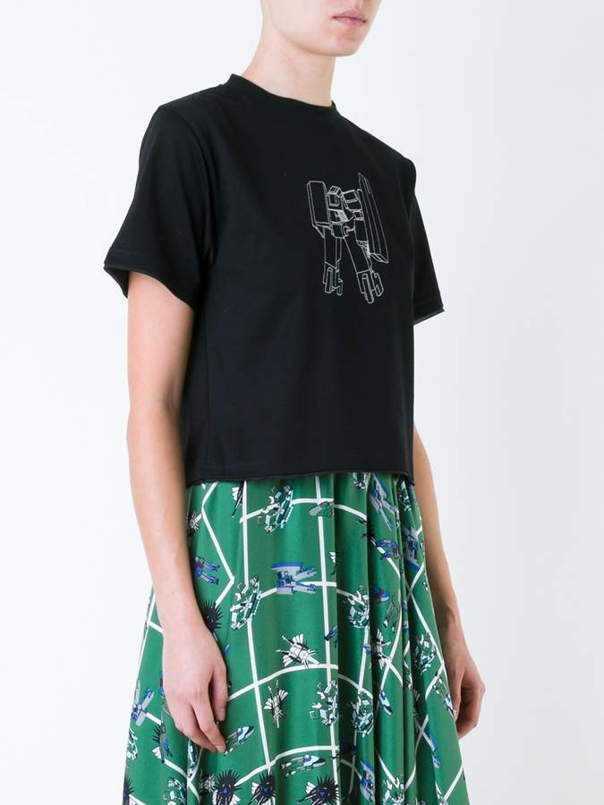 Julien David embroidered T-shirt