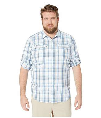 Columbia Big and Tall Silver Ridge 2.0 Plaid Long Sleeve Shirt