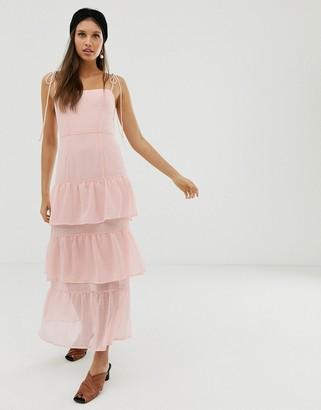 Capulet Quinn tiered maxi dress