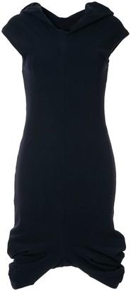 Comme Des Garçons Pre-Owned Short-Sleeve Midi Dress