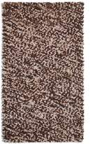 House of Fraser Plantation Rug Co. Beans 100 Wool Rug - 120x170 BrownBeige