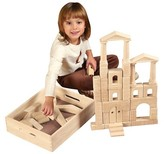 ECR4Kids 48 Pc Architectural Blocks with Carry Case