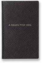 Smythson A Damn Fine Idea Leather Book